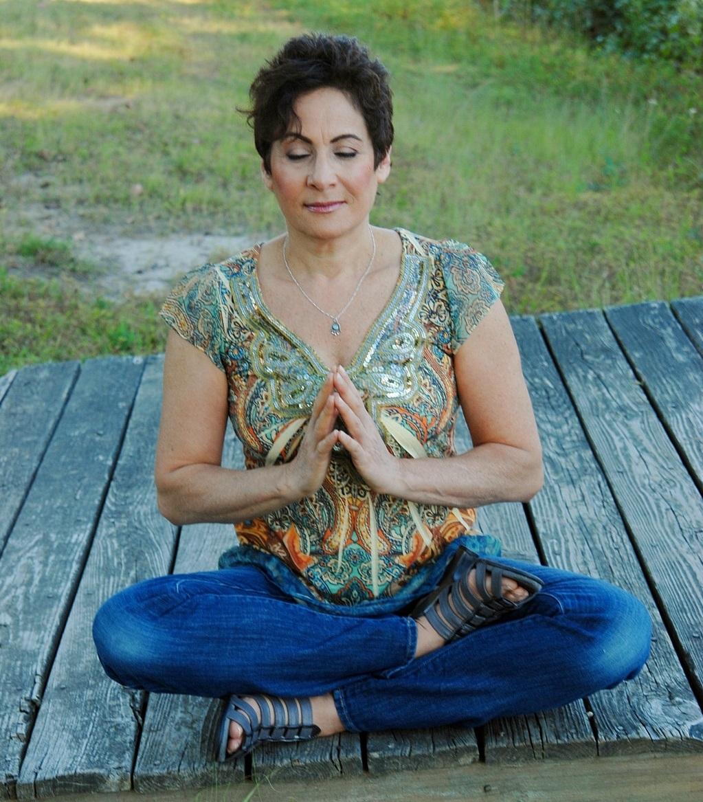 Carole Yoga Pose